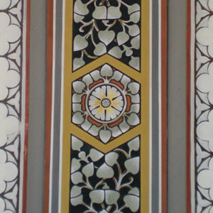 Restauratie Goirkese kerk Tilburg Sjabloonwerk bogen