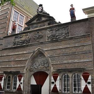 Restauratie Weeshuispoort Leiden