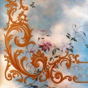 Sierschilderwerk plafond van der Kelen