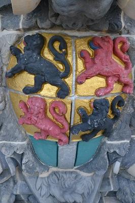 Grote of Sint Laurenskerk Rotterdam restauratie wapens
