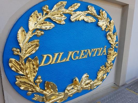 Verguldwerk ornament Diligentie Den Haag