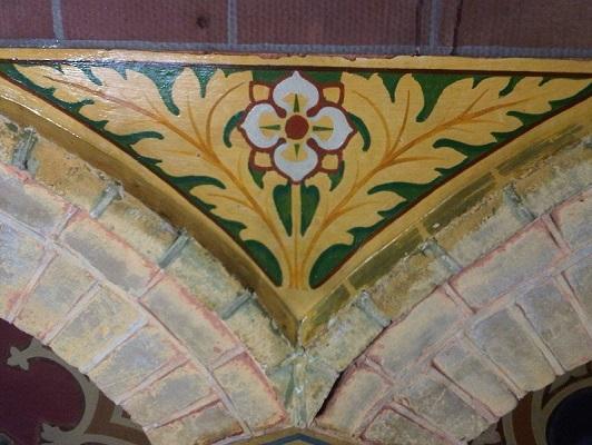 Reinigen schildering Franciscuskerk Oudewater