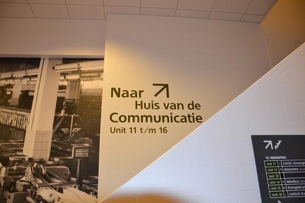 Bewegwijzering Portaal Leiden
