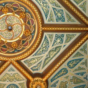 Sierschilderwerk plafond Kasteel de Haar