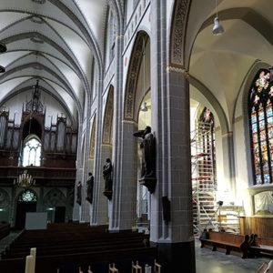 Restauratie Goirkese kerk Tilburg
