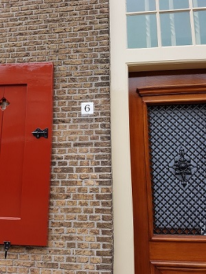 Letterwerk huisnummer Oude Raadhuis, Naaldwijk