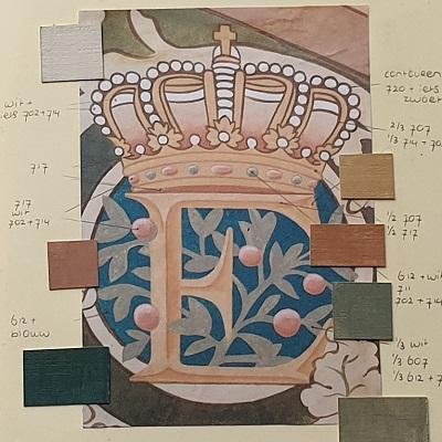 Bronnenboek Froukje van der Haven restauratie- en decoratieschilder Rijksmuseum Eregalerij